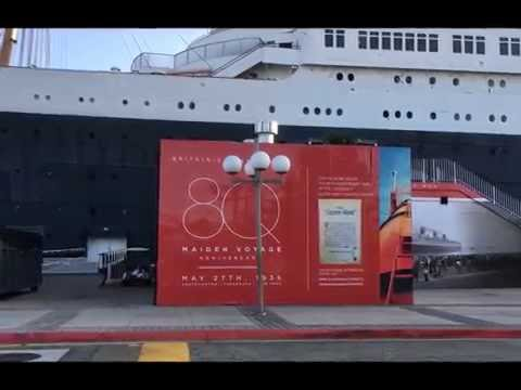 RMS Queen Mary moored @ LongBeach, CA!