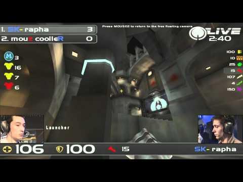 Cooller vs. rapha - Quake Live IEM 2011 Grand Final 1/2