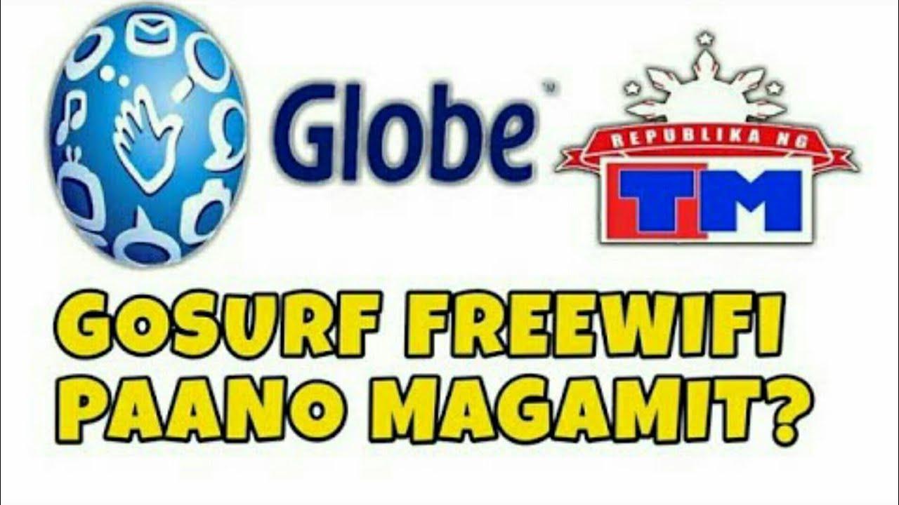 GoSurf/EasySurf WiFi Existing Freebies   Paano Magamit (Globe&Tm)