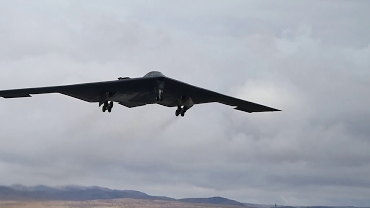 US Military News • B-2 Spirit Stealth Bomber • Leads Red Flag 21-1 Takeoffs •  Jan. 26, 2021