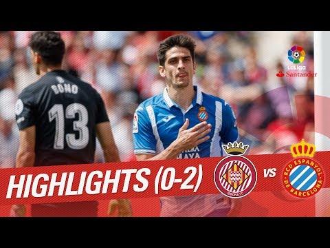 Resumen de Girona FC vs RCD Espanyol (0-2)