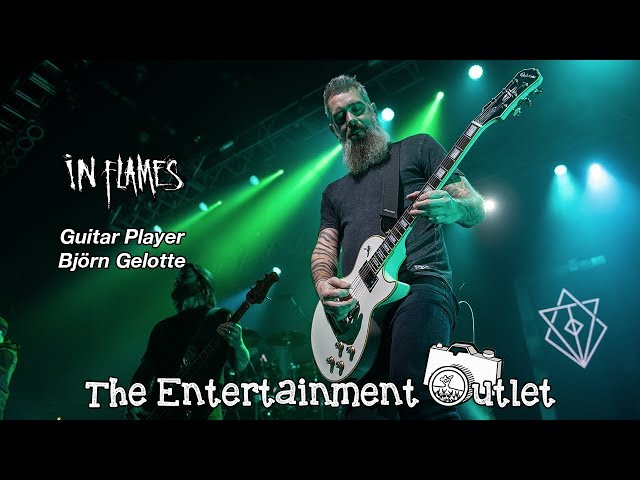 Interview with Björn Gelotte of In Flames - March 3, 2019
