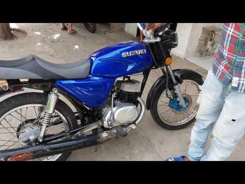 Suzuki AX 100 Preparada
