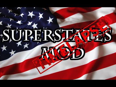 Europa Universalis 4 Timelapse: SuperStates Mod 1 | FunnyCat TV