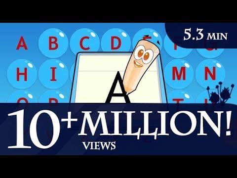 How to write the English Alphabet A to Z?