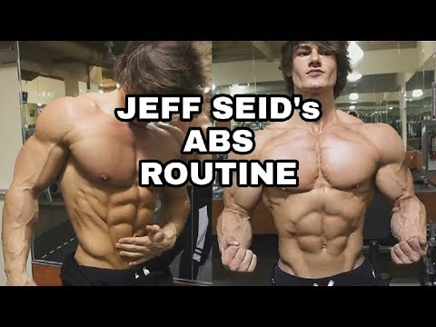 JEFF SEID six pack abs workout | abs routine | how to get six pack abs like Jeff Seid