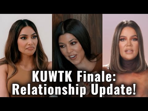 Kim Kardashian REVEALS Truth About Kanye West Divorce on Keeping up With The Kardashians Finale