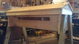 Bee Keeping: How To Make A Top Bar Bee Hive