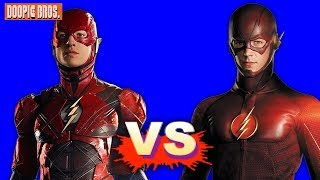 Movie Flash Vs TV Flash - Who's the Best Flash?