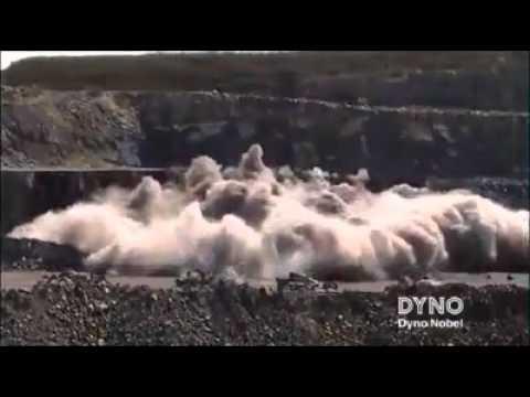 Mining blast compilation