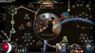 237 increased aoe skill showcase path of exile
