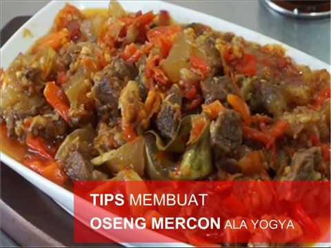 DiahDidi.Com - Tips MEMBUAT OSENG MERCON ala YOGYA