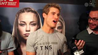 Sage Northcutt can't even remember the last time he wasn't happy
