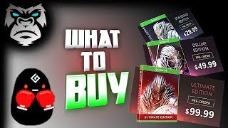 WHAT TO BUY | Black Desert Online Xbox | Standard, Deluxe or Ultimate? BLURRY VIDEO - IM SORRY