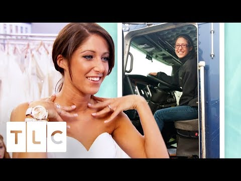 Truck Driver Bride Can't Find What She Wants! | I Found The Gown