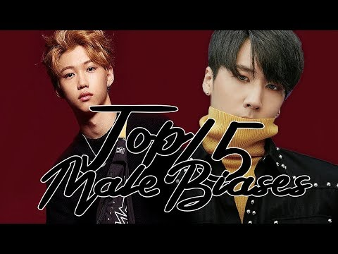 MY TOP 15 MALE BIASES