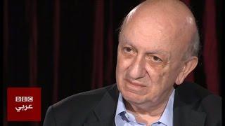 السياسي اللبناني  سمير فرنجية في المشهد