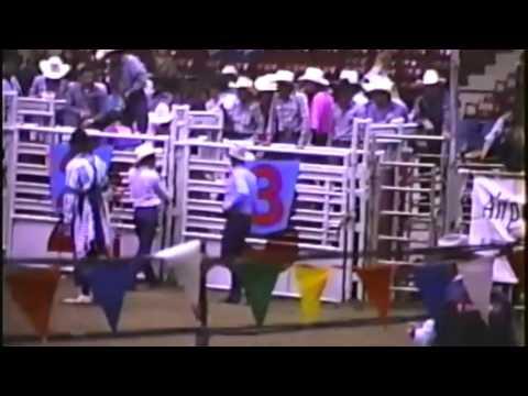 Bull Riding : 1989 CRRA Finals Round 4 : Tulsa, Oklahoma
