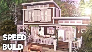Pinterest Rustic Tiny House || The Sims 4: Speed Build