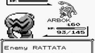 Pokemon Blue Glitch Attack Hex D1