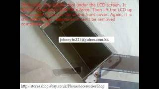 Disassembly Instruction for Nokia 5800 Xpress Music