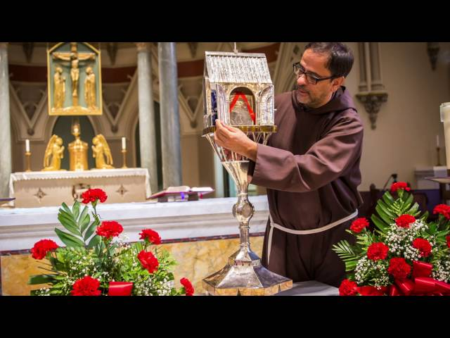 Veneration of St. Padre Pio's Heart