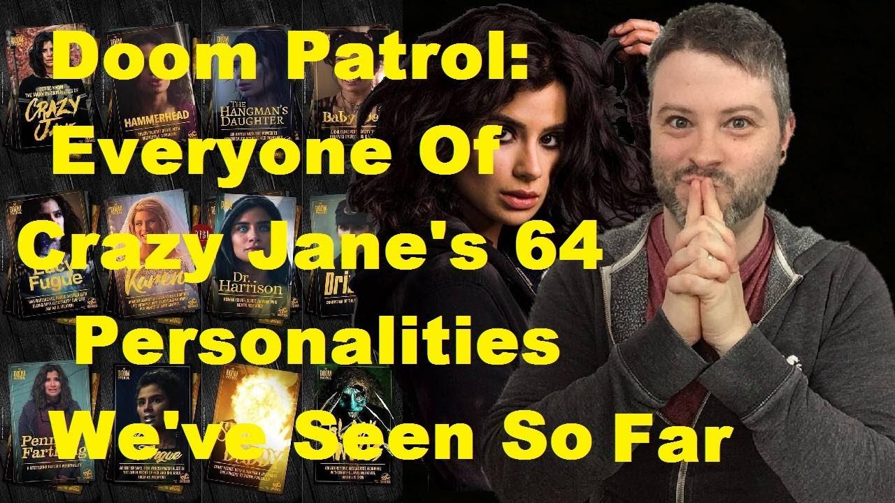 doom patrol crazy jane personalities