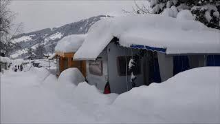 CampingWelt Brixen im Thale Sneeuwschepdag 12 januari 2019