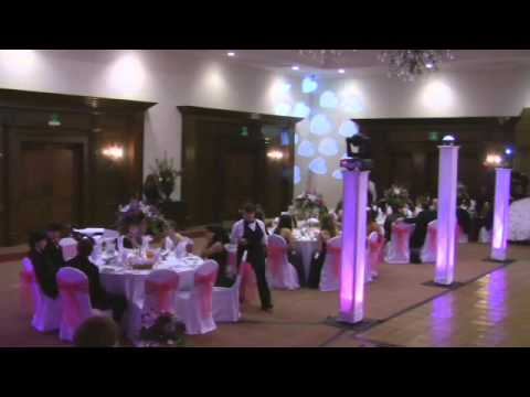 Sweet 16 with Low Fog Uplighting Movers and More DJ Mikey Mike Hellenic Center