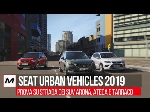 SEAT Urban Vehicles 2019 | Prova su strada di SEAT Arona, Ateca e Tarraco