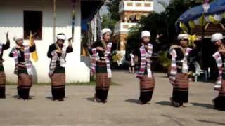 ฟ้อนสไบ..ไตลื้อ...(ล้านนา)-( Fon Sa Bai...Tai Lue..Lanna )