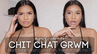 aja's corner  chit chat GRWM: …