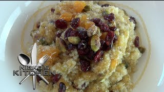 Quinoa Porridge (healthy Breakfast) - Nicko's Kitchen