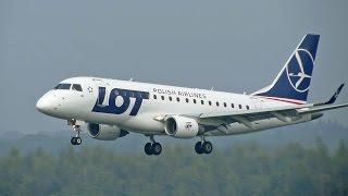 Embraer 170/175, Polish Airlines, Arrival at Eindhoven
