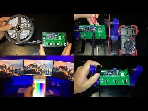 Complete Guide LED Strip Control MQTT OpenHAB ESP8266 : Hardware 2017
