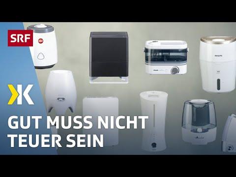 Luftbefeuchter Im Test: Gutes Gerät Bereits Ab 45 Franken | 2019 | SRF Kassensturz