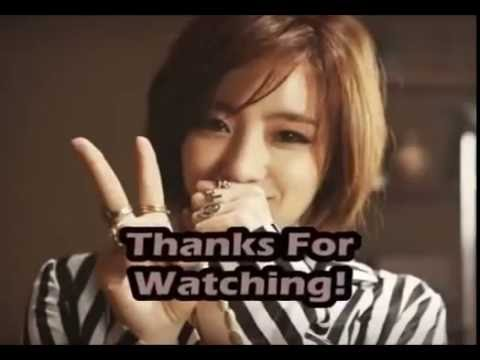 T-ara Eunjung High Notes live  (Bb4~F5)