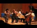 Kyung Sun plays Brahms Piano Quartet g minor III