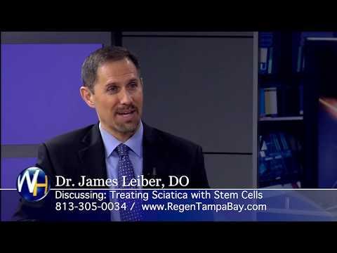 Stem Cells for Treating Sciatica with Regenexx Tampa Bay and Sarasota's James Leiber, DO