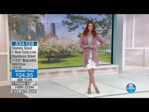 HSN | Stately Steel Jewelry 06.08.2017 - 12 PM
