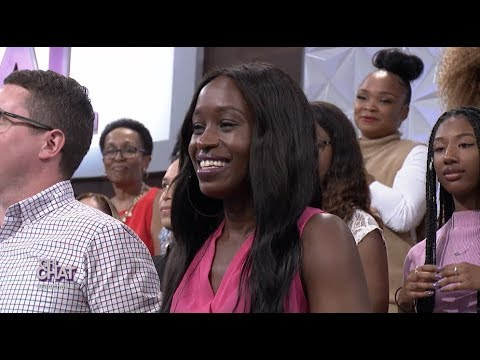 An Emotional Day for an Audience Member from South Africa