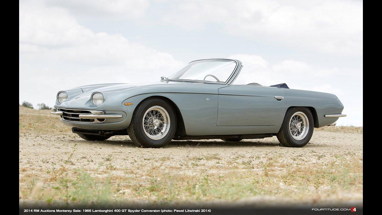 1966 Lamborghini 400 GT 2+2 Spyder Conversion - YouTube