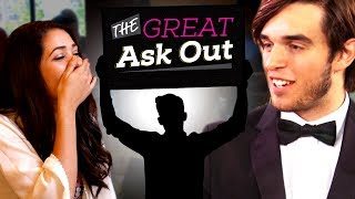 BOY ASKS GIRL TO PROM BY SINGING IN PUBLIC! NOTHIN' ON YOU - B.o.B. - The Great Ask Out Ep. 3