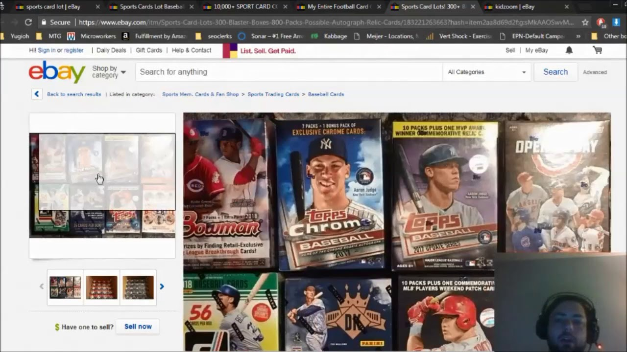 Make Money On Ebay Selling Unopened Sports Cards
