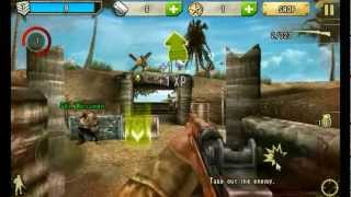 Brothers In Arms 2 Android Game Play (HD)