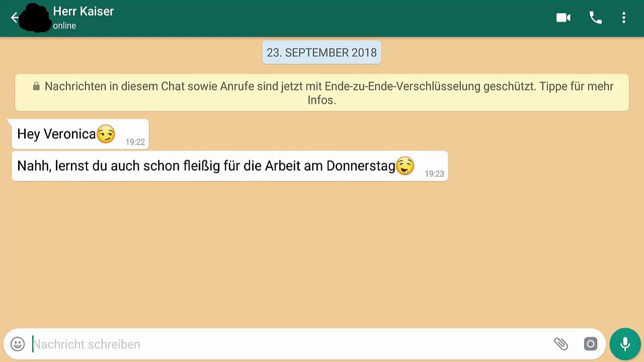 Lehrer Whatsapp