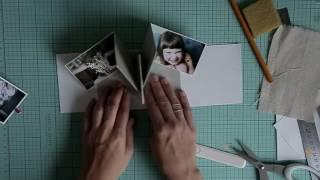 Видео МК Альбом с pop up элементами   Урок№1