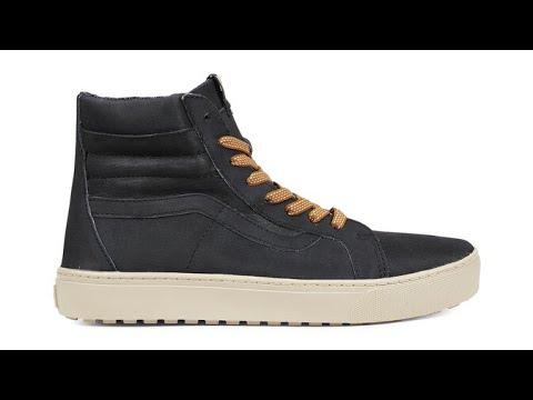 e75226a0a5 Shoe Review  Vans Sk8-Hi MTE Cup DX (Black Hummus) - YouTube