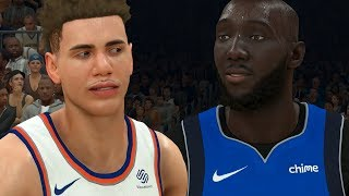 NBA 2K20 LaMelo Ball My Career Ep. 38 - EPIC SHOWDOWN vs 99 OVERALL TACKO FALL