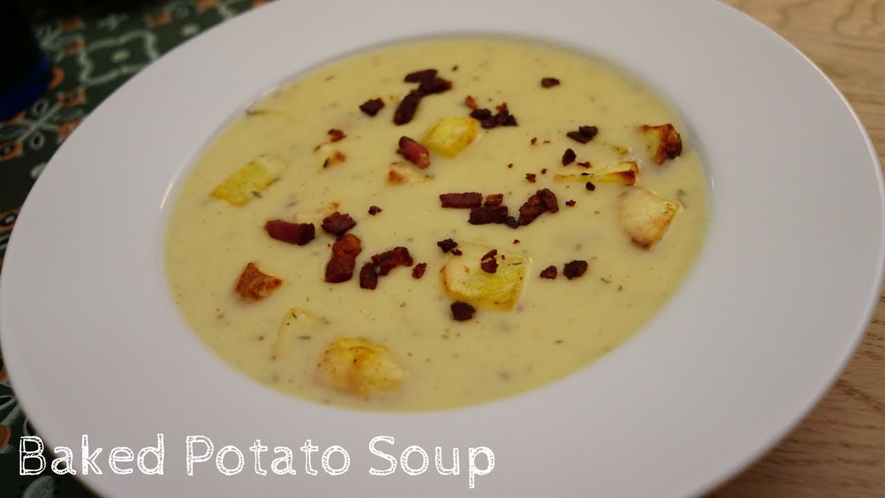 How To Make Baked Potato Soup Luby S